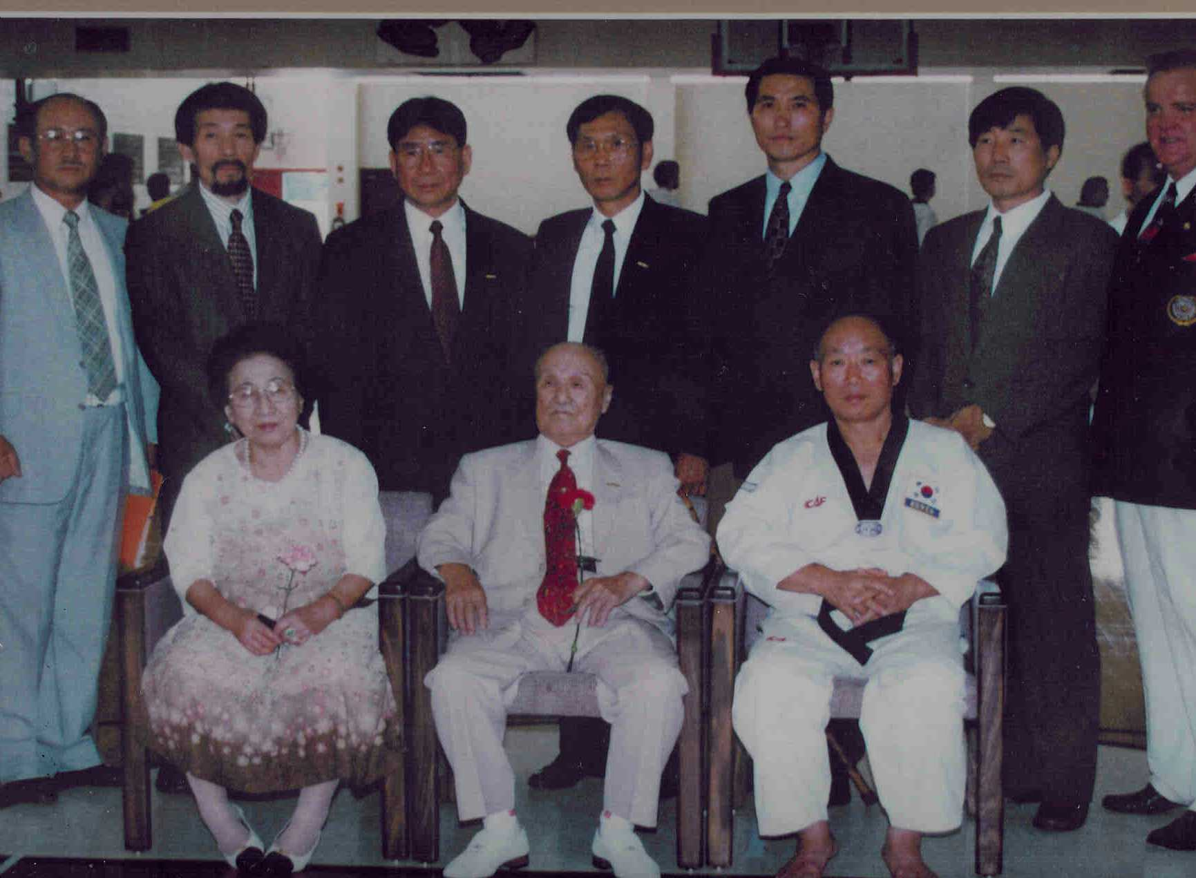 June 22, 2001 Chung Do Kwan Founder and Grandmasters