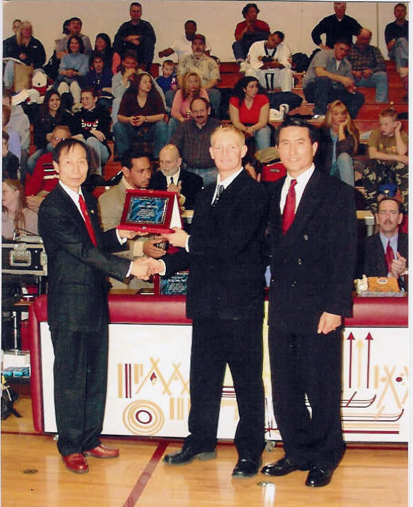 March 3, 2002 Master Manning Presented by Grandmaster Kim of Spain