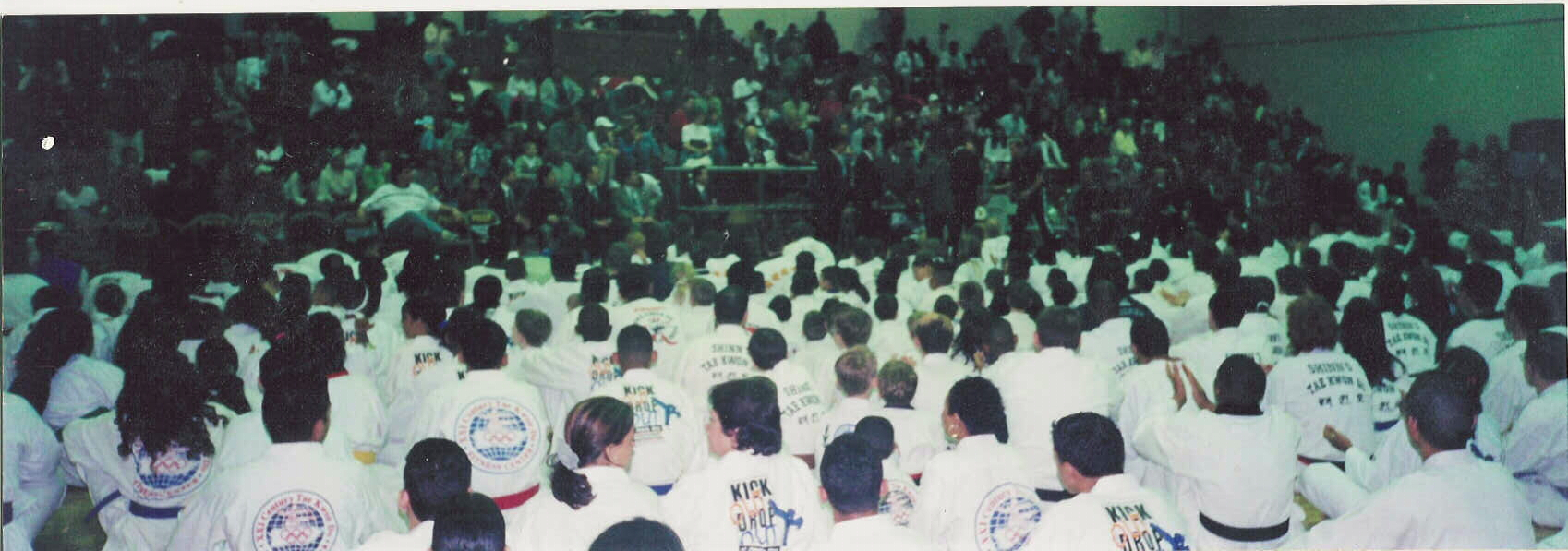 "March 3-4, 2002 Chung Do Kwan International Championship Every year Grandmaster Sung Jae Park, 9th Dan, and President of Chung Do Kwan International Inc., hosts the Chung Do Kwan International Championship Tournament; with hundreds assembling from around the world to compete and demonstrate their martial arts skills. These tournaments are designed for all age groups, from 4 years up to adults. No one is left out of competing! This worldwide tournament is one that brings people of all age groups and ethnic backgrounds together, within the principles of good sportsmanship, skills, and the desire to attain their individual goals and objectives. Grandmaster Park provides this annual ""Tournament"", so all those attending will leave with more knowledge, understanding of martial arts competition, and the chance to be the ""best of the best"" in their chosen field of competition. Even those who don't place in a competition, still walk away from this annual event…a winner! Watch for news regarding the next upcoming Championship Tournament, which will be posted! We look forward to seeing you there!!!"