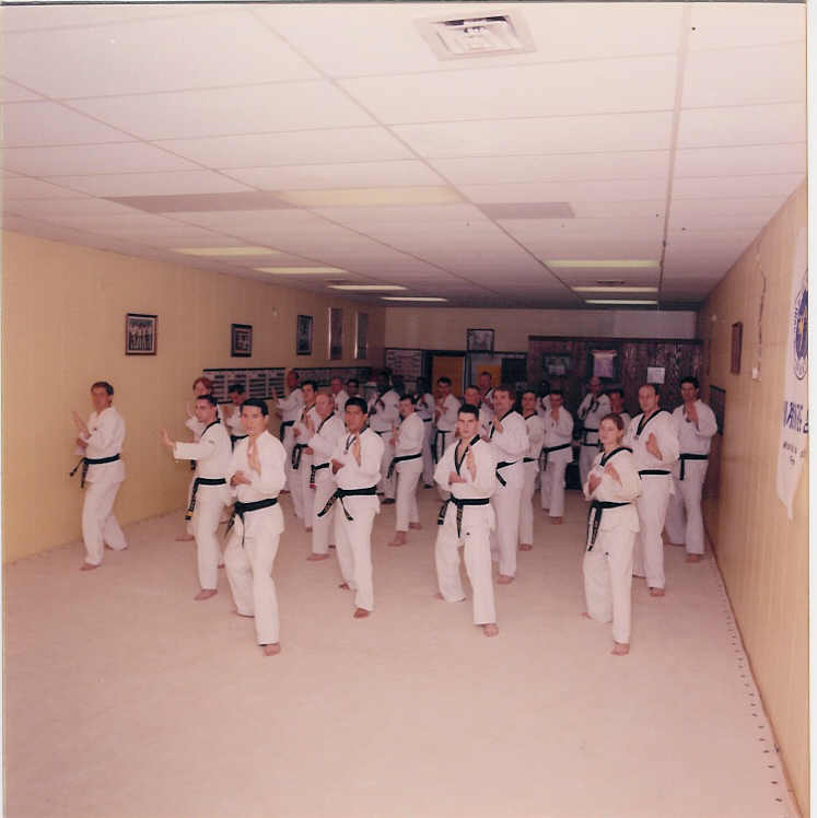 October 5, 2000 Black Belt Members In Motion