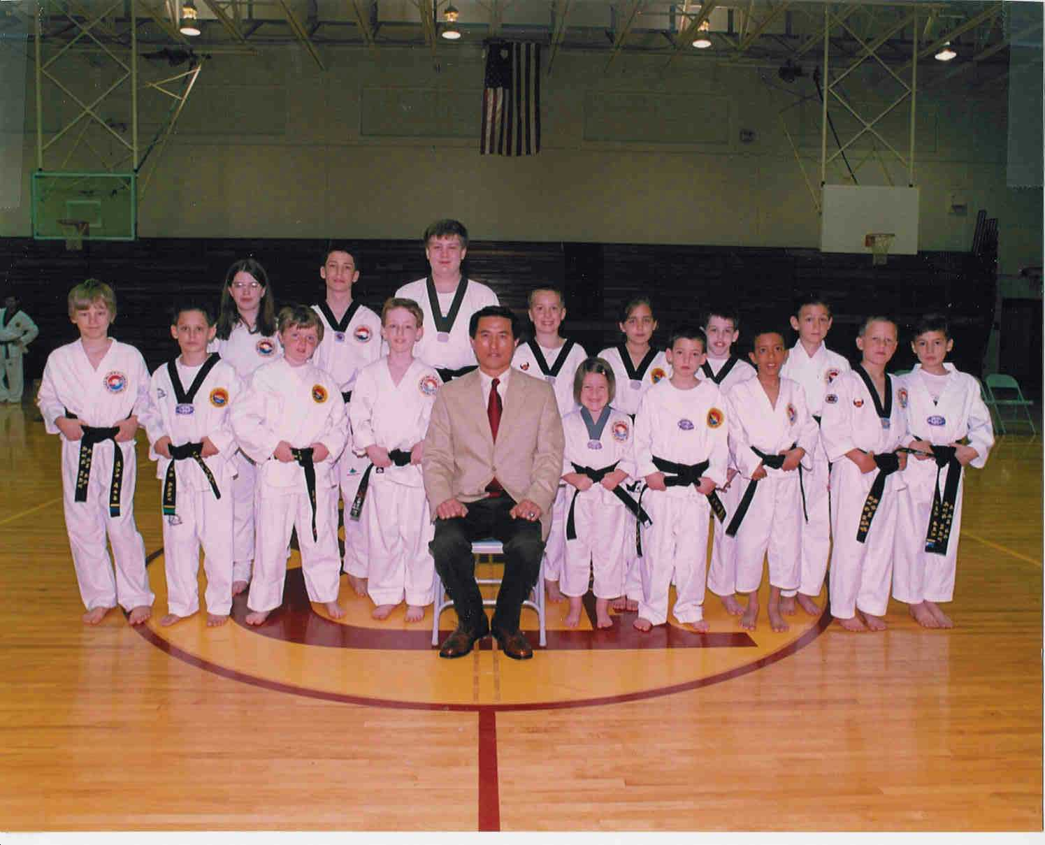 June 22, 2001 Children Black Belt Members, 2001