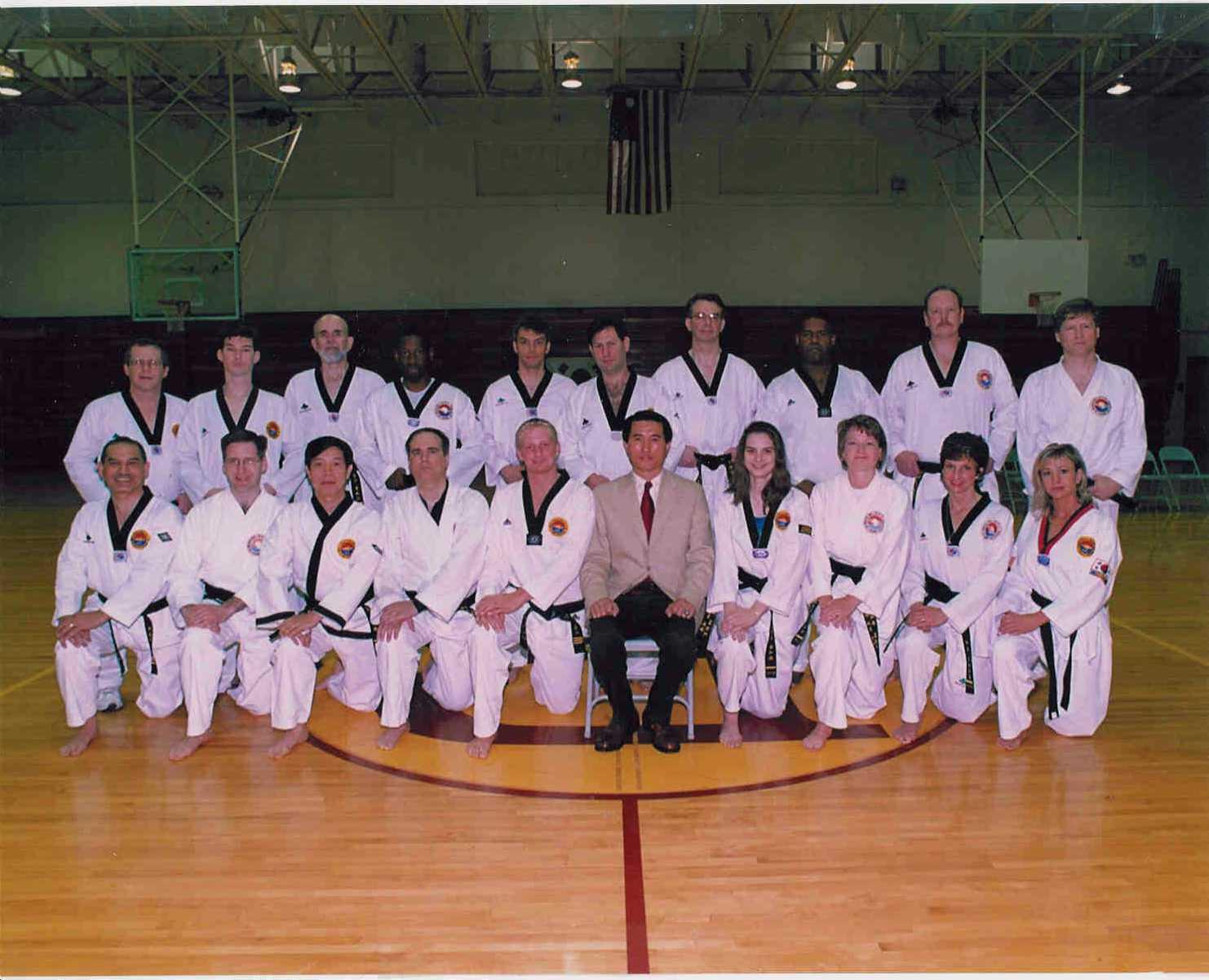 June 22, 2001 Adult Black Belt Members, 2001