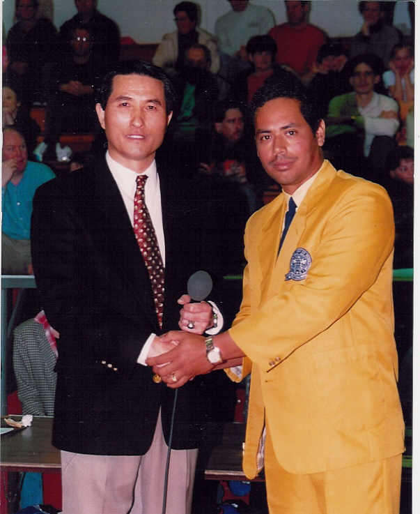 March 3, 2002 Grandmaster Park and Master Victor Rivera @ CDK Championship