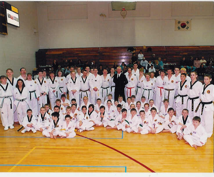 September 9, 2001 Master Scott Manning and His Students